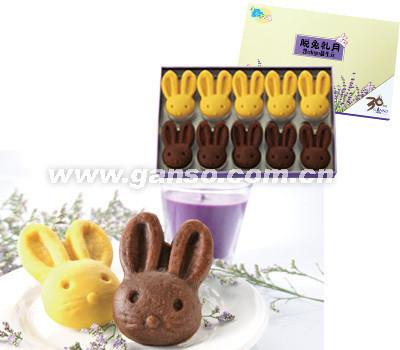 2011元祖 雪月饼 冰淇淋月饼劵 188型脱兔戏月 全国通用