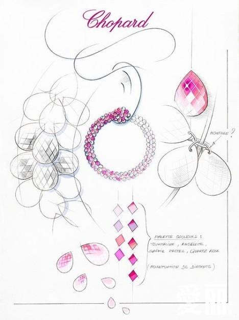 宝圈式耳环设计