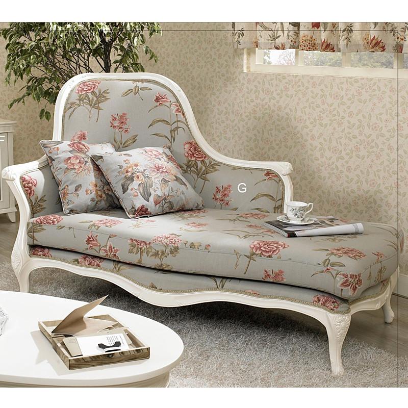 奥立克 韩式田园风格 布艺沙发 a908贵妃椅
