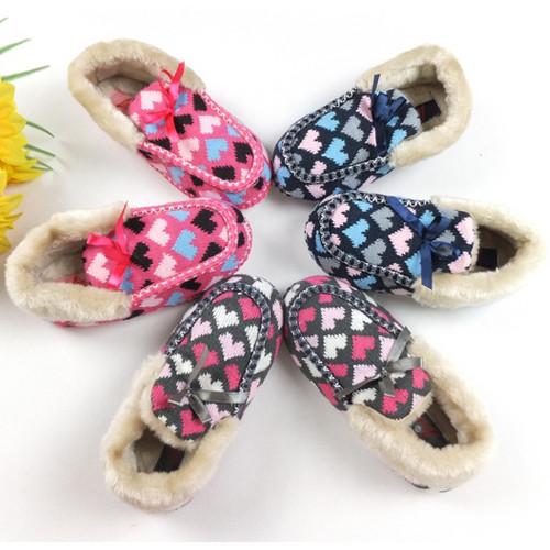 编织棉鞋花样蝴蝶图解
