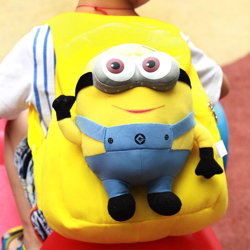 韩版可爱男童卑鄙的我2幼儿园书包小学生书包卡通儿童包包双肩包
