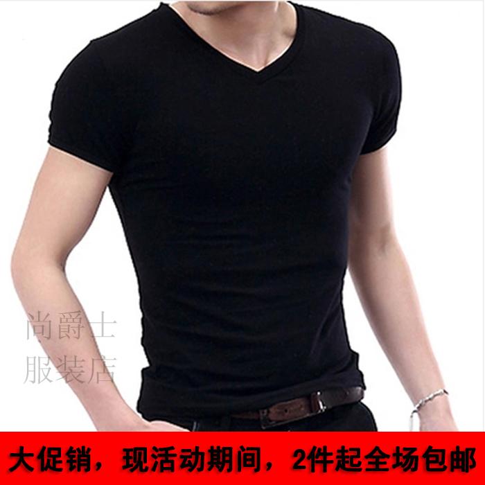 纯黑半袖搭配图片_纯黑半袖怎么搭配