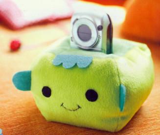 森林系·diy手工制作`可爱的小动物布艺手机座