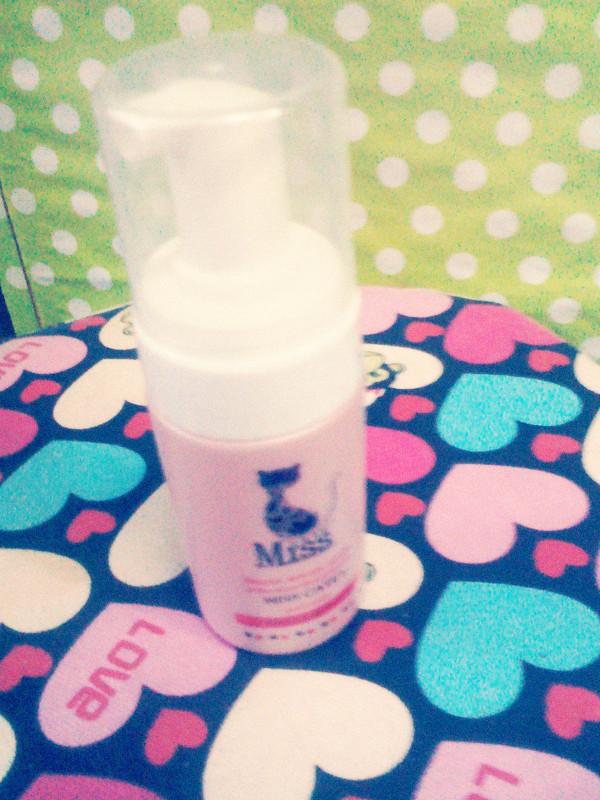 好可爱的小粉瓶,上面还有猫猫标志. - 蘑菇街