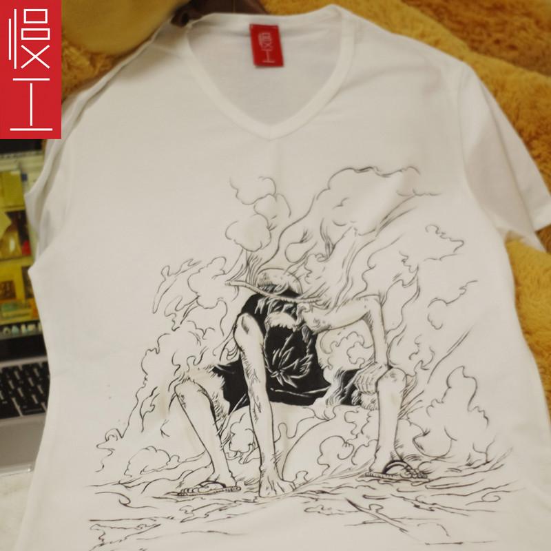 创意个性手绘t恤