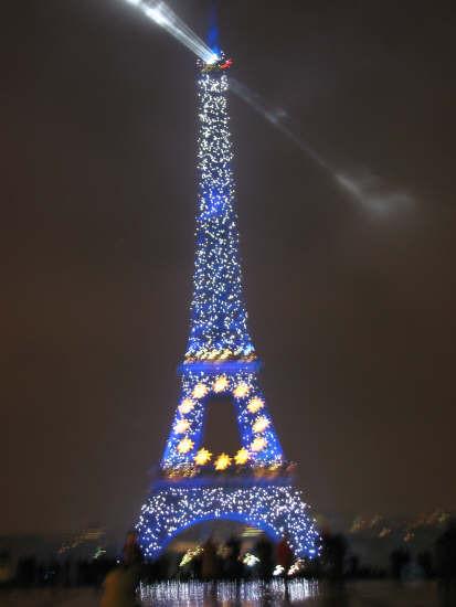 夜景##旅行#巴黎的埃菲尔铁塔