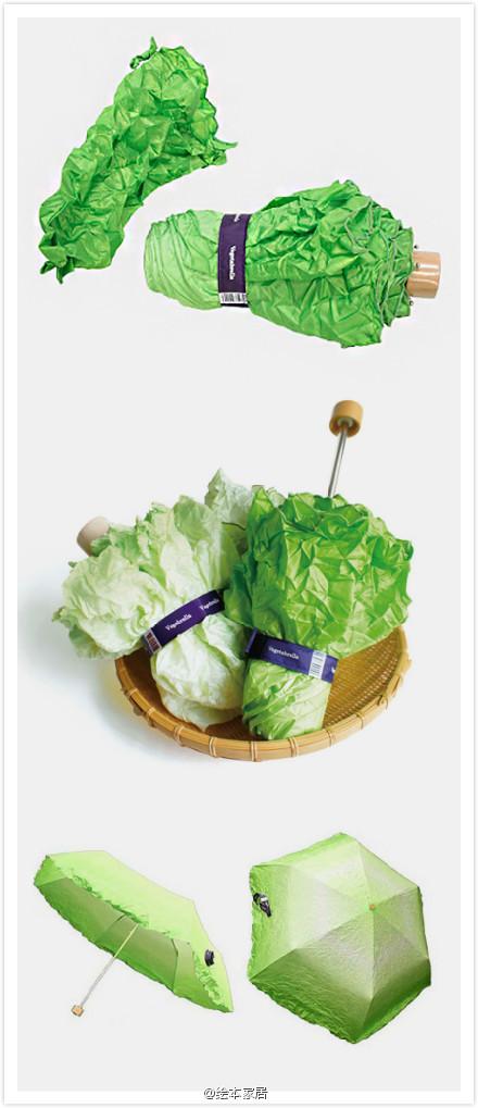 一款蔬菜造型的伞.图片