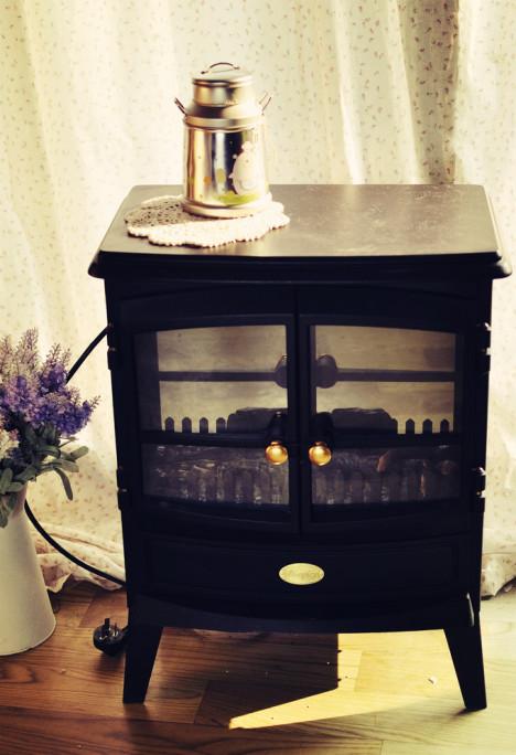 欧式复古壁炉(电加热仿真型)