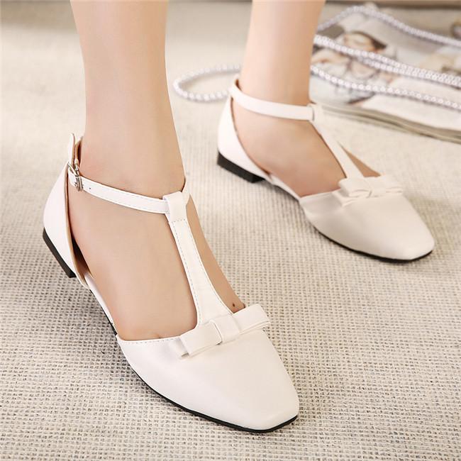 2014新款鞋蝴蝶结女单鞋