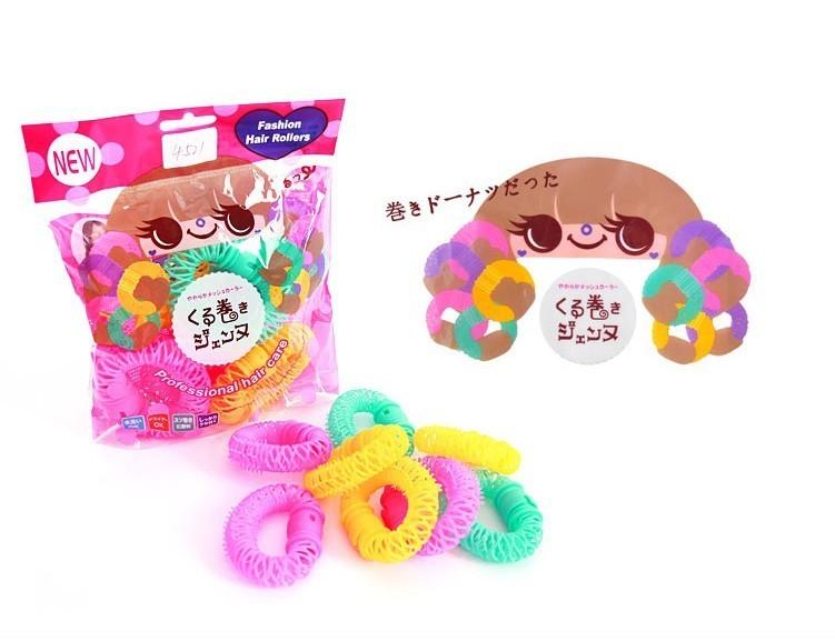 【甜甜圈卷发器神器】-配饰-冒冒潮品店-蘑菇街优店