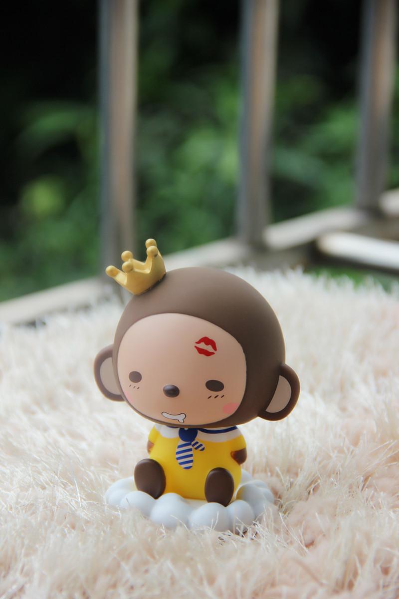 超萌超可爱小猴子~~摇摇头~萌萌哒