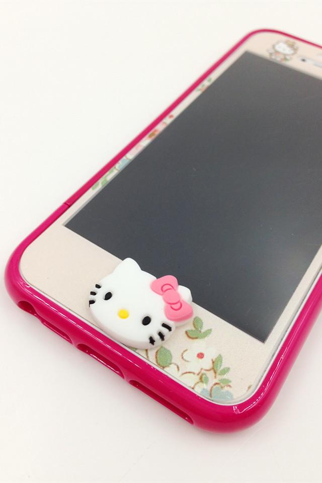 kitty贴膜 边框苹果手机壳套装