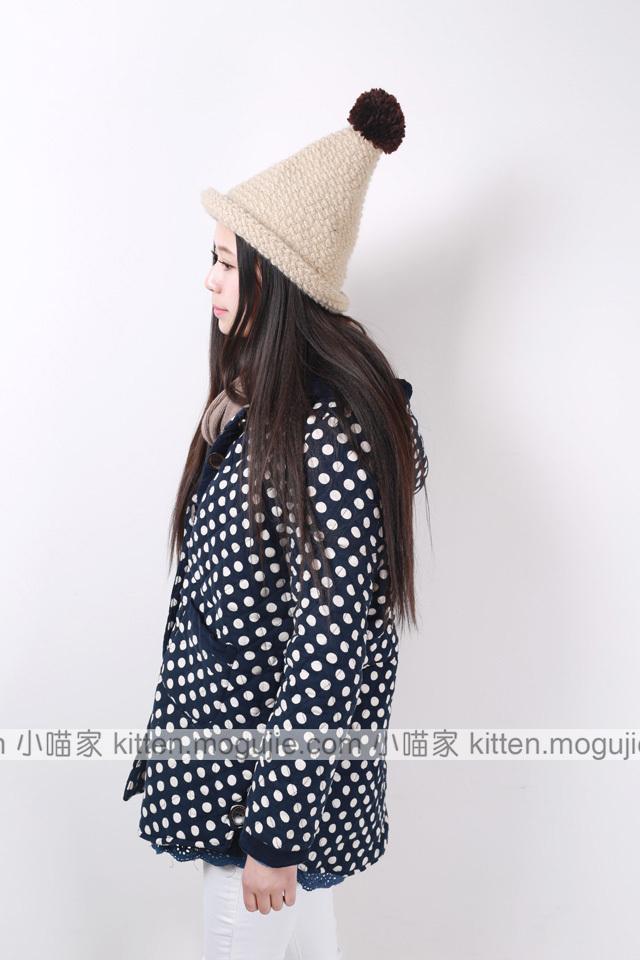 【可爱娃娃衫花边棉衣】-衣服-棉服/棉衣_上装_女装