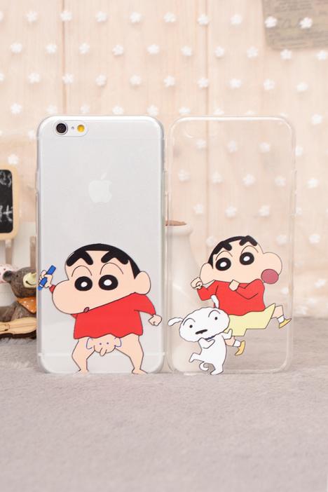 手机壳,蜡笔小新,可爱,搞笑,卡通,保护,套,壳,苹果,iphone6,5s,plus,5