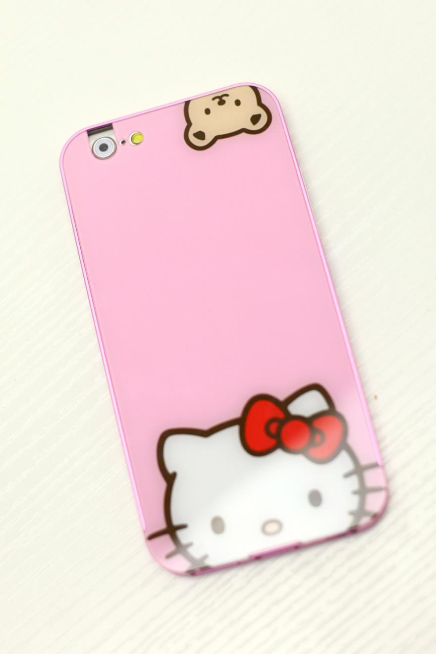 甜美可爱kt猫亚克力苹果手机壳