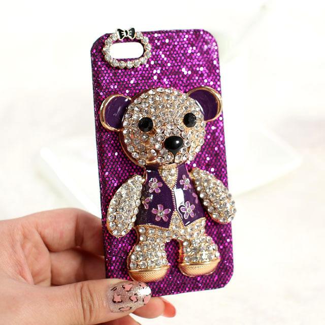 可爱小熊iphone三星小米手机壳