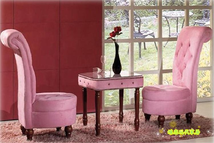 欧式单人沙发新古典小户型阳台休