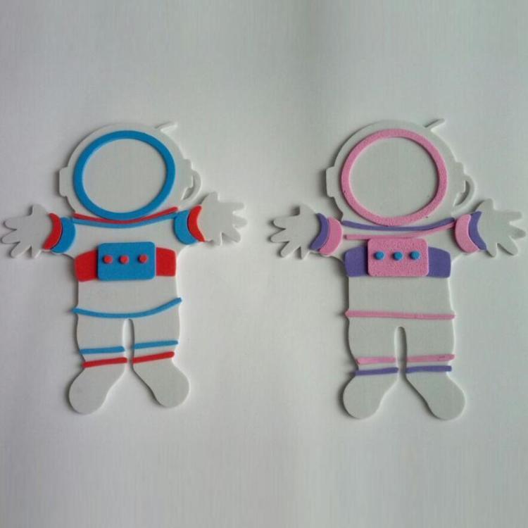 eva贴画 立体拼图 diy儿童益智玩具 手工制作拼图 造型拼装玩具