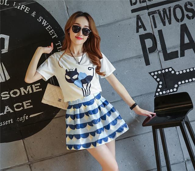时尚套装_夏季新款韩版女装潮流 时尚套装