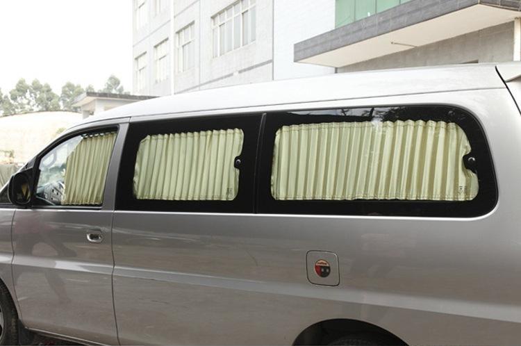 金杯海狮面包车丰田海狮金龙金威金旅海狮中顺面包车专用汽车窗帘