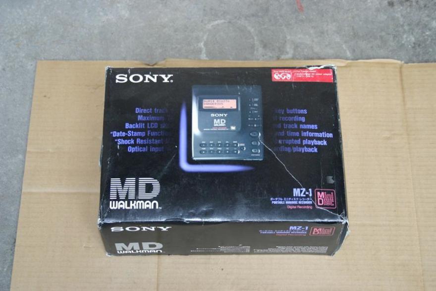 新到货sony mz-1 全新