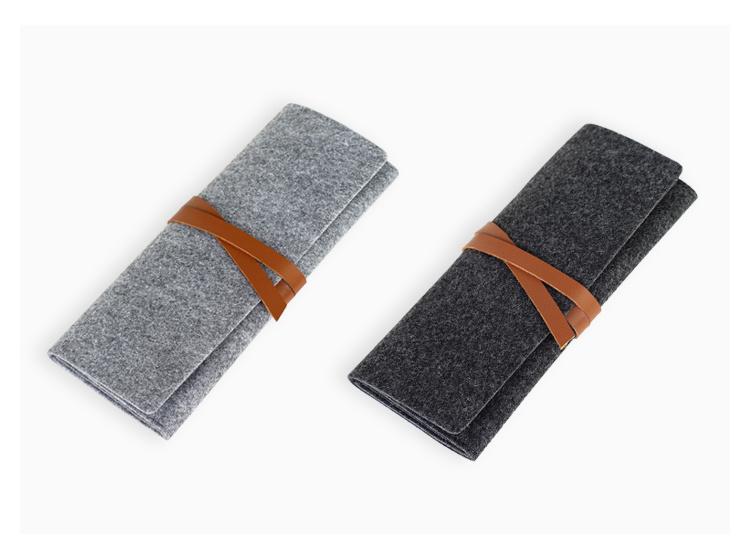 韩国铅笔笔帘女可爱简约创意文具袋