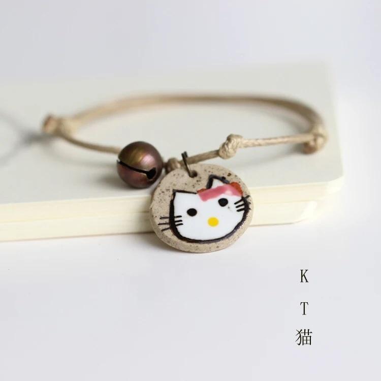手工编制陶瓷小手链