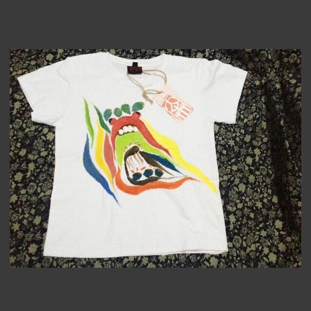 儿童款m号纯棉手绘t恤