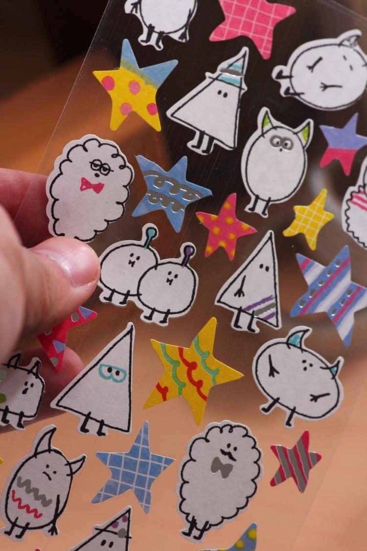 【简单生活动物乐园涂鸦贴纸】-null-百货