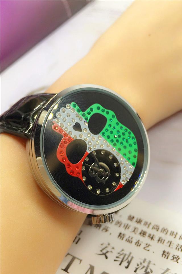 【爱围皇后】酷炫骷髅头手表