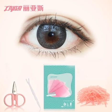 【丽亚斯210条超粘双面胶双眼皮贴隐形纤维条拉线胶