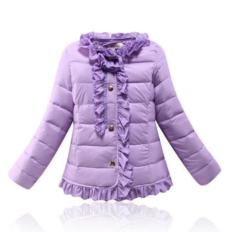 2015新款童装冬装 儿童羽绒服内胆 女童羽绒服公主外穿