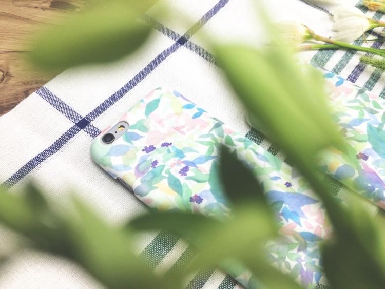 yufuu渔夫原创手绘iphone手机壳-薄荷绿