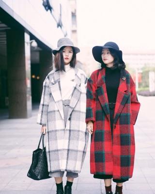 冬季红色衣服搭配