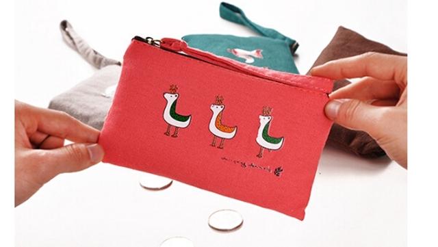 【新款可爱动物零钱包】-包包-百货