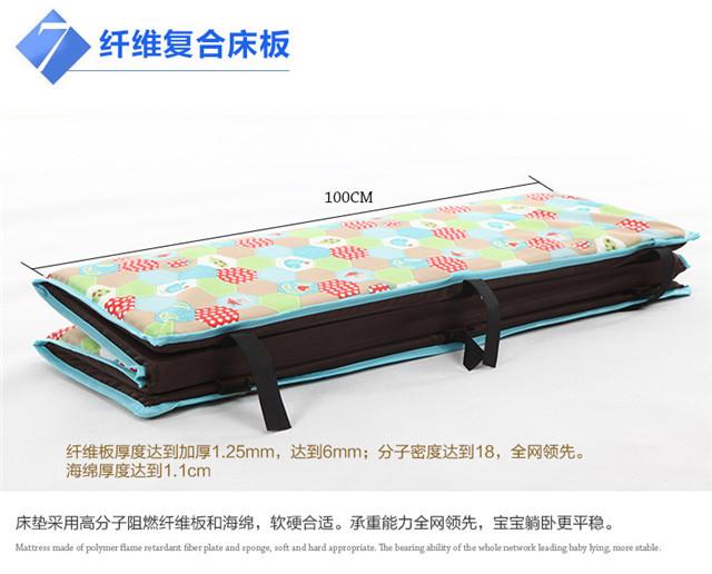 欧式多功能折叠床】-母婴-婴儿床/儿童