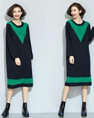 大码羊毛针织裙搭配图片_大码羊毛针织裙怎么搭配_大