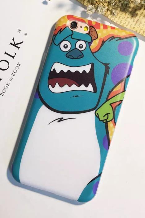 【包邮卡通怪兽大学iphone6s手机壳大眼仔毛怪苹果6