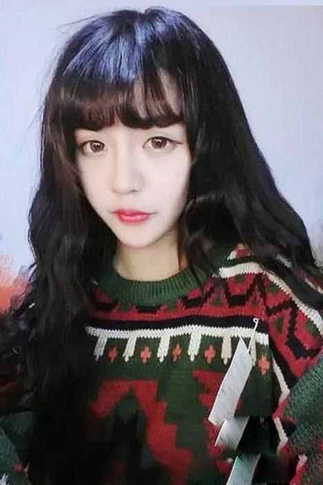 韩国女假发空气刘海玉米烫