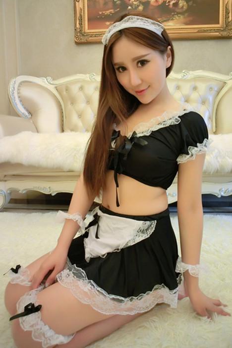 睡衣情趣,女仆装,情趣内衣,情趣内衣,主题蕾丝情趣房套装有什么床图片