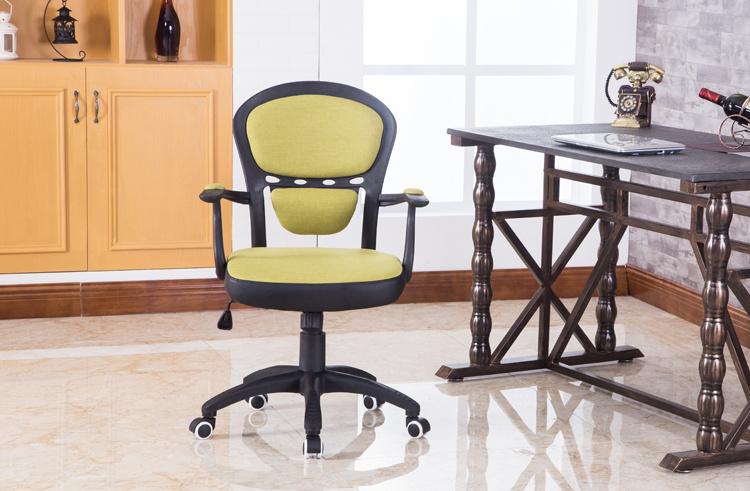 欧式田园风电脑椅办公椅转椅学生职员家用白色书桌椅