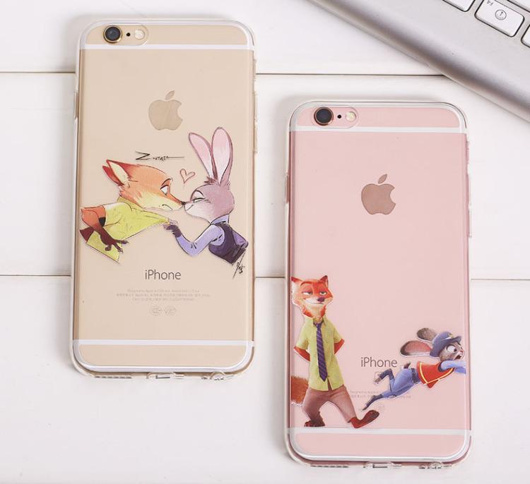 【疯狂动物城手机壳 苹果