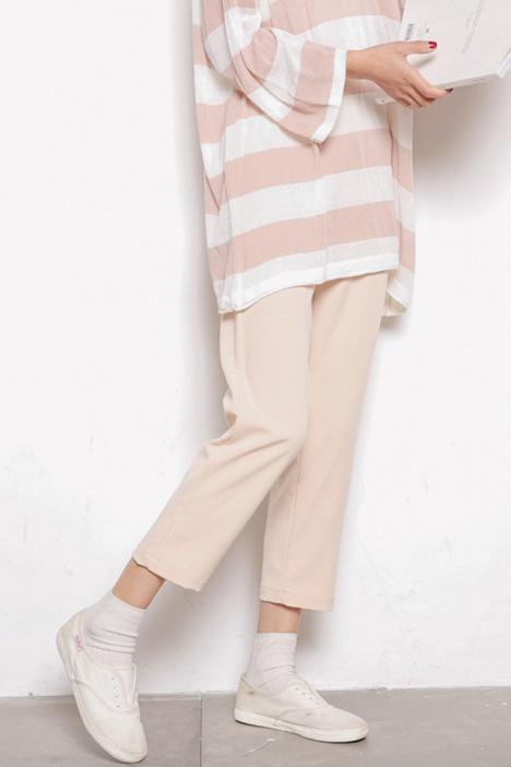 【显瘦休闲烟管裤】-衣服-裤子
