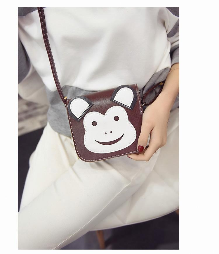 新款韩版可爱猫咪卡通斜挎包
