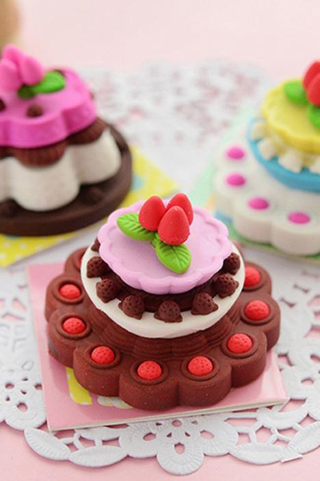 生日蛋糕造型橡皮擦