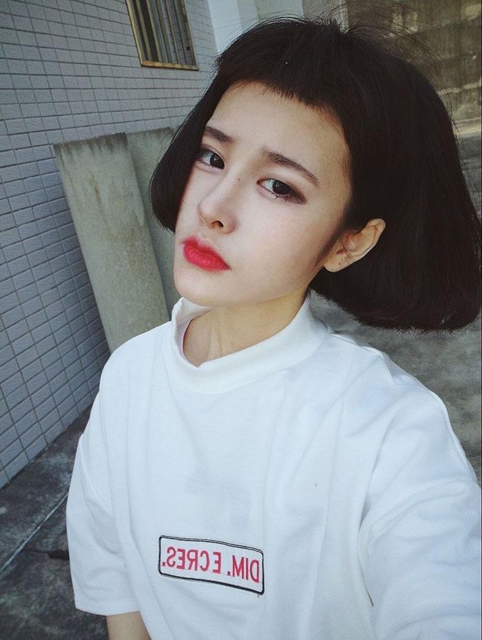 【【芭比家】【卡卡酱】韩国ulzzang原宿bf风宽松】