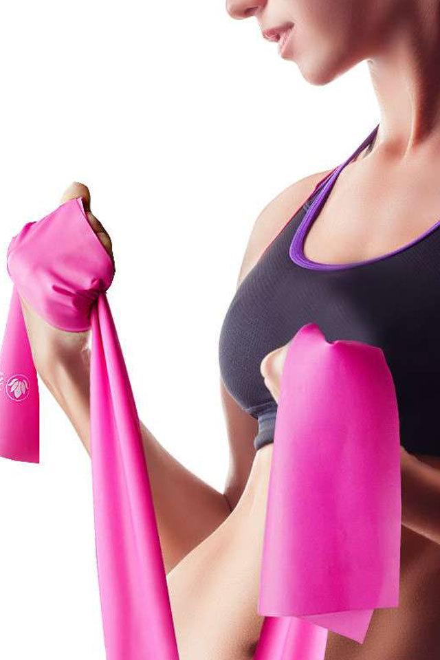 塑形必备天然乳胶瑜伽瘦身拉力带健身弹力带