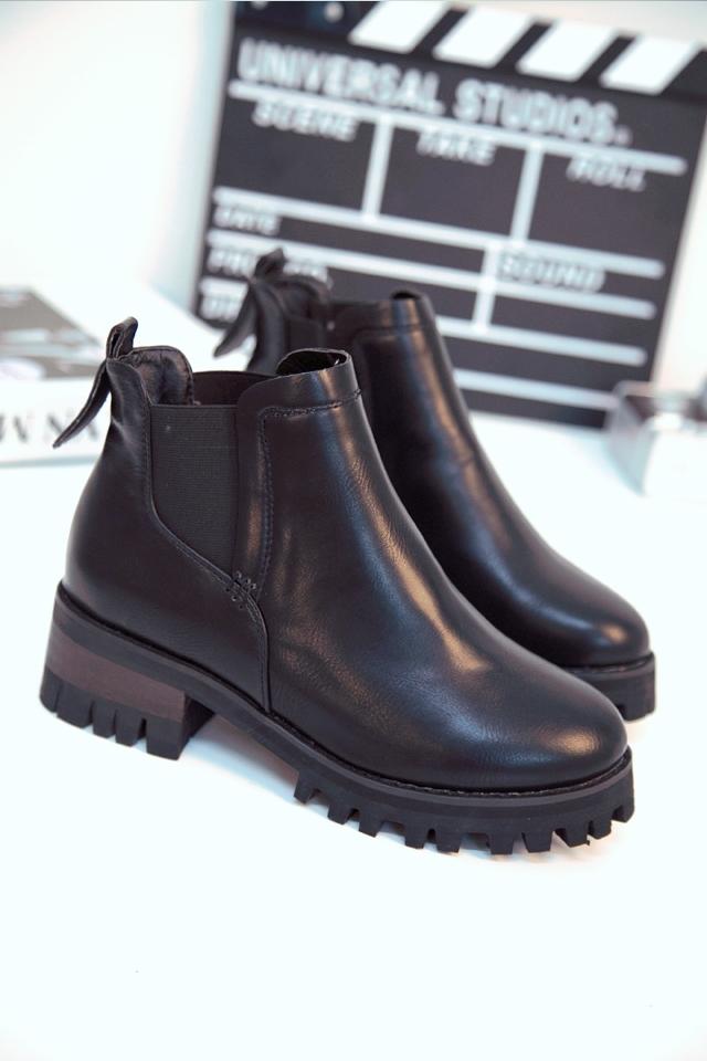 【英伦风复古时尚短靴】-无类目-服饰鞋包